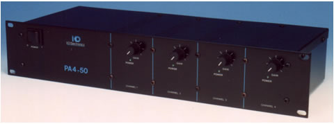 Four channel amplifier